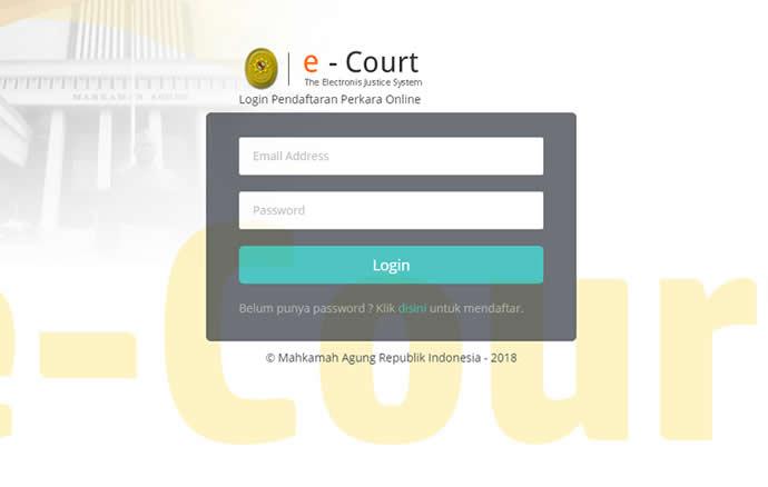 Lebih Singkat Dengan E-Court